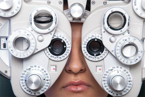 Eye exam cool